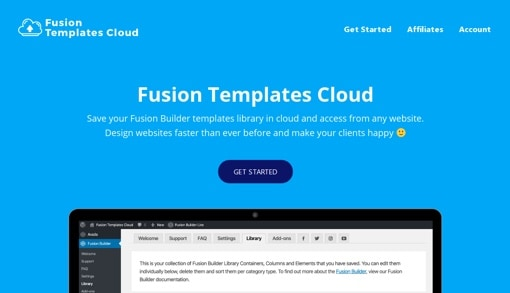 Fusion Templates Cloud