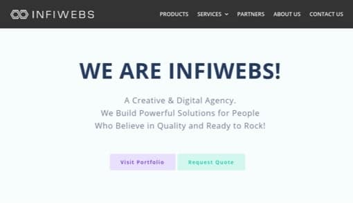 InfiWebs Company Site